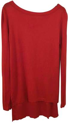 Les Petites Red Cotton Top for Women