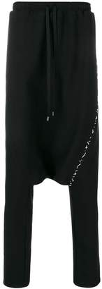 Alchemy drop-crotch trousers