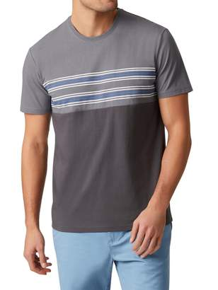Jeanswest Troy Short Sleeve Panelled Crew Tee