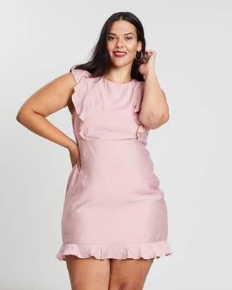 ICONIC EXCLUSIVE - Lorrane Tie Back Dress