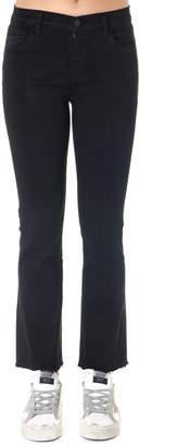 J Brand Black Selena Jeans In Denim