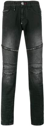 Philipp Plein Otherside Biker jeans