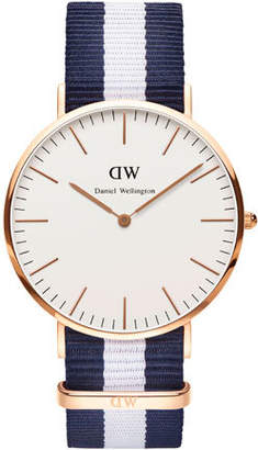 Daniel Wellington Classic Glasgow 40mm Rose Gold Watch