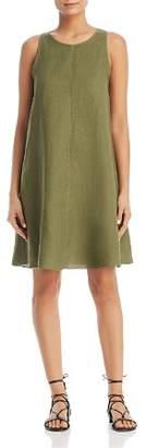 Three Dots Linen Shift Dress
