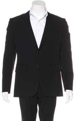 BLK DNM Two-Button Wool Blazer