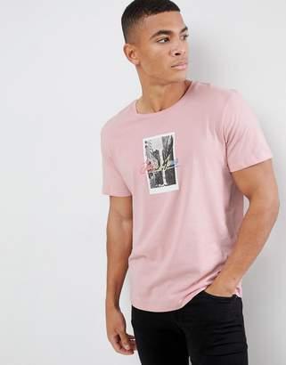 Jack and Jones Polaroid Print T-Shirt