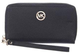 MICHAEL Michael Kors Leather Phone Wallet