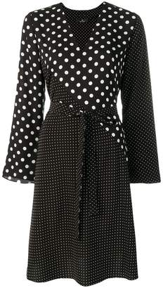 Paul Smith polka dot wrap-around dress