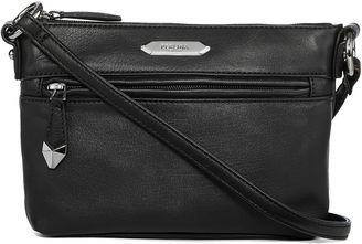 PERLINA Perlina Nappa Mid-Size Leather Crossbody Bag $99 thestylecure.com