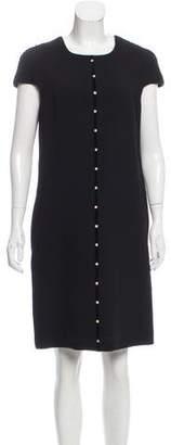 Aquilano Rimondi Aquilano.Rimondi Embellished Wool Shift Dress