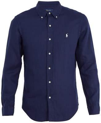 Polo Ralph Lauren Logo-embroidered linen shirt