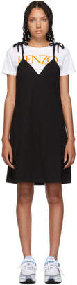 Kenzo Black T-Shirt Mini Dress