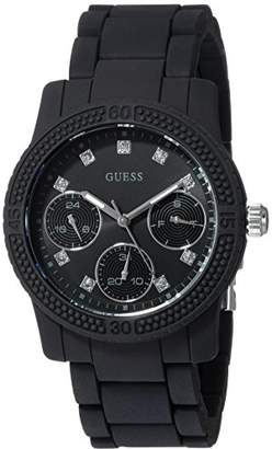 GUESS Women's Silicone Casual Watch