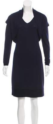Lafayette 148 Wool Mini Dress Set