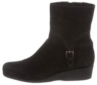 La Canadienne Wedge Ankle Boots
