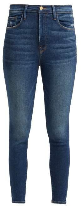 Ali High Rise Skinny Cigarette Jeans - Womens - Denim