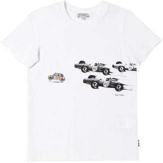 Paul Smith Car Print Cotton Jersey T-Shirt