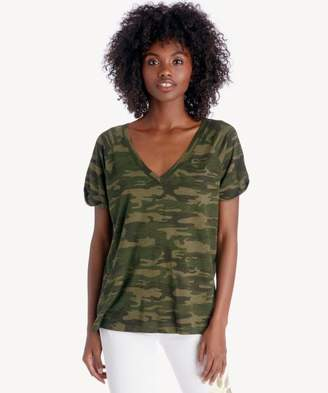 Sole Society Camo V-Neck Tee