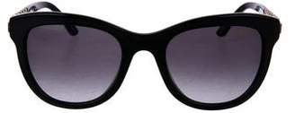 Chopard Strass Gradient Sunglasses