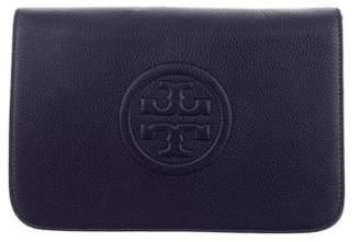 Tory Burch Leather Logo Clutch