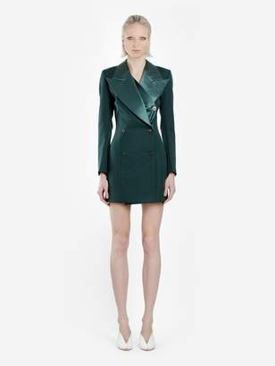 b54bc336387 Y Project Y  PROJECT GREEN TUXEDO DRESS