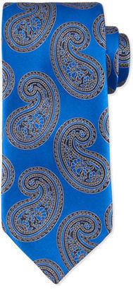 Ermenegildo Zegna Paisley-Print Silk Tie $205 thestylecure.com