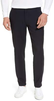 Hickey Freeman H BY Hybrid Jogger Flat Front Wool Trousers