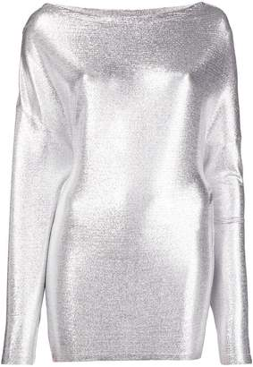 Paco Rabanne buttoned shoulder top