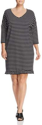 Junarose Plus Dessie Stripe Dress