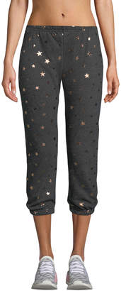 Star-Print Perfect Jogger Sweatpants