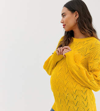 Mama Licious Mama.Licious Mamalicious maternity cable knit sweater