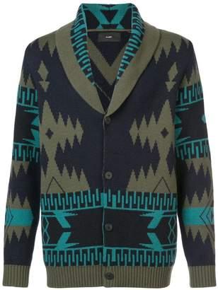 Alanui patterned cashmere cardigan