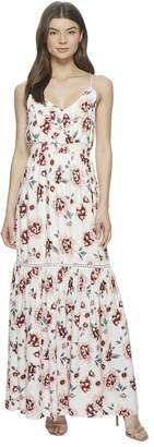 BB Dakota Kogan Pretty Meadows Printed Maxi Dress Women's Dress