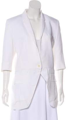 Barbara Bui 2015 Structured Notch-Lapel Blazer