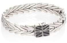 John Hardy Modern Chain Black Spinel& Sterling Silver Bracelet