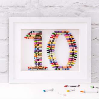 Crayola The Letteroom Personalised Number