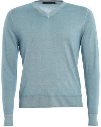 89190d1a4942 Mens V Neck Silk Cashmere Sweater - ShopStyle UK