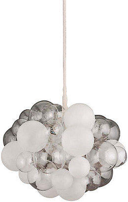 The Light Factory 45-Bubble Chandelier - Clear/Frosted