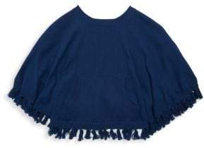 Lilly Pulitzer Little Girl's& Girl's Hani Cotton Poncho