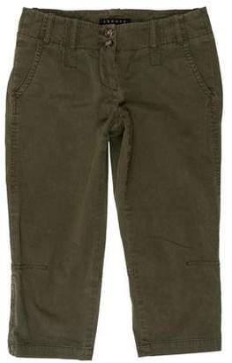 Theory Cropped Low-Rise Pants