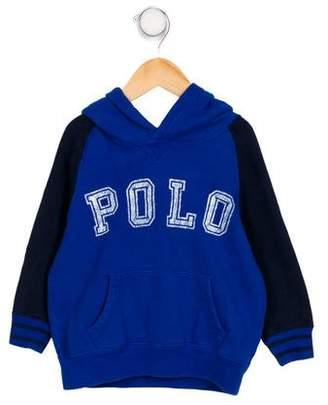 Polo Ralph Lauren Boy's Hooded Pullover Sweatshirt