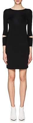 Helmut Lang Women's Detached-Cuff Shift Dress