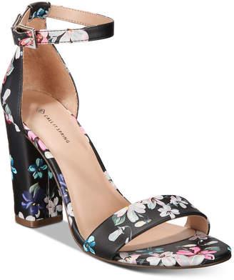5c246942cfd Call it SPRING Stangarone Block-Heel Sandals Women Shoes