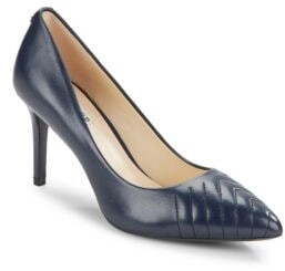 Roulle Leather Point-Toe Pumps