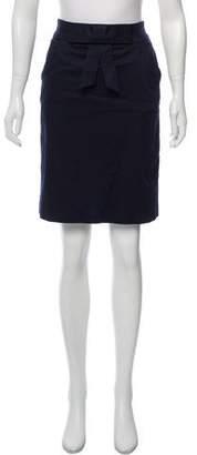 Milly Embellished Knee-Length Skirt