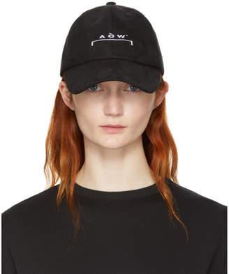 A-Cold-Wall* SSENSE Exclusive Black Logo Cap