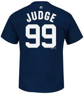 Majestic Men's Aaron Judge New York Yankees Official Player 3XL-4XL T-Shirt