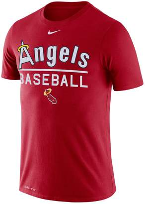 Nike Men's Los Angeles Angels of Anaheim Practice Tee