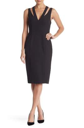 Do & Be Do + Be Strappy Cutout V-Neck Dress