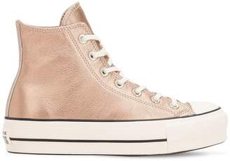 Converse Chuck Taylor Hi Metallic Leather Sneaker